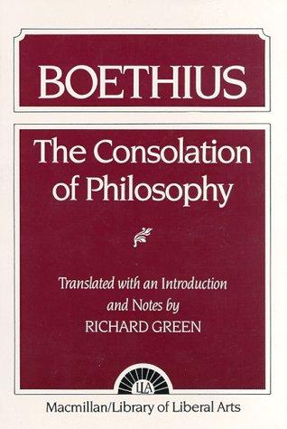 The Consolation of Philosophy: Boethius