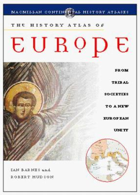 The History Atlas of Europe 9780028625843