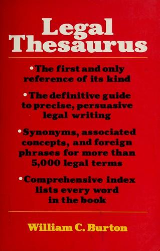 The Legal Thesaurus