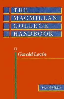 The MacMillan College Handbook