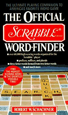 The Official Scrabble Word-Finder 9780020298021