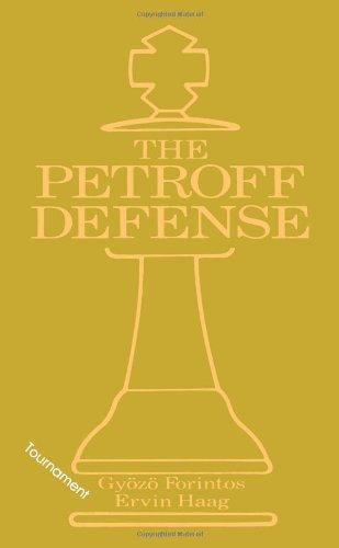 The Petroff Defense 9780020285618