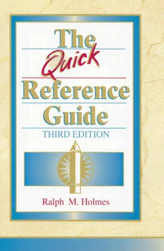 The Quick Reference Guide