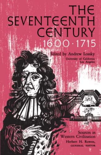 The Seventeenth Century 1600-1715