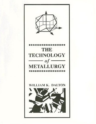 The Technology of Metallurgy