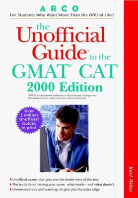 The Unofficial Guide to the GMAT CAT