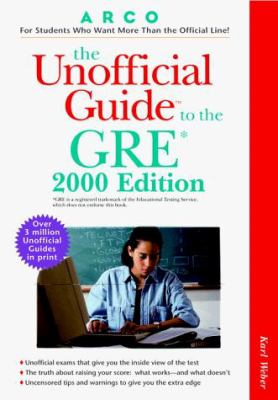 The Unofficial Guide to the GRE
