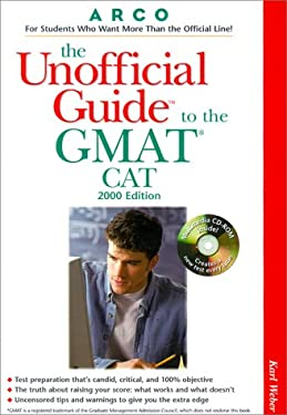 Ug/The GMAT CAT W/ CD ROM 2000 [With CDROM]