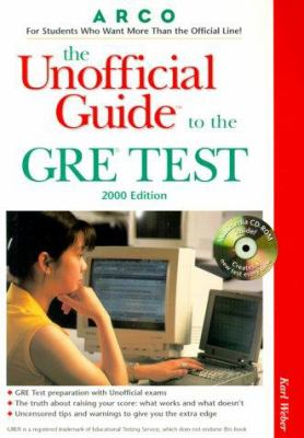 Ug/The GRE W/CD-ROM 2000 Edition [With CDROM]