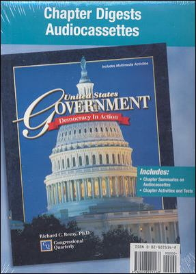 United States Government: Democracy in Action, Chapter Digests Audiocassette Package