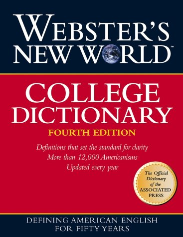 Webster's New World College Dictionary 9780028631196
