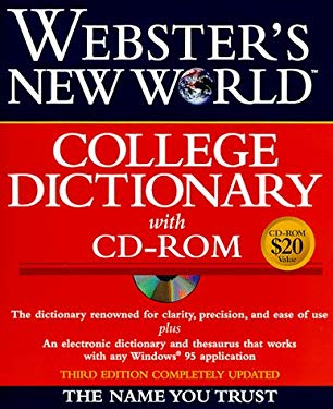 Webster's New World College Dictionary [With An Electronic Dictionary & Thesaurus] 9780028623801