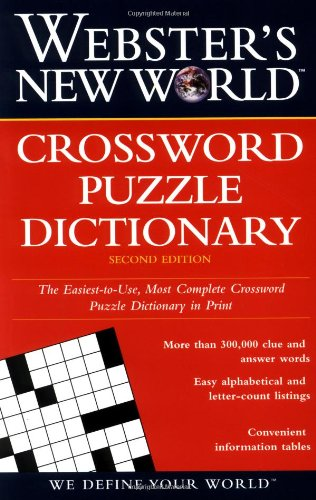 Webster's New World Crossword Puzzle Dictionary 9780028612126