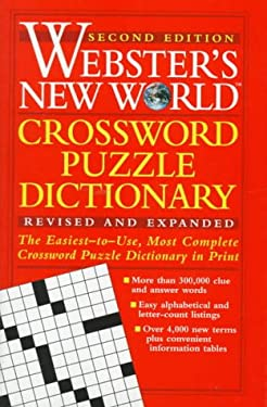 Webster's New World Crossword Puzzle Dictionary 9780028612133