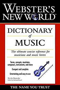 Webster's New World Dictionary of Music
