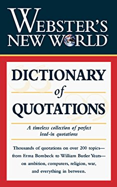 Webster's New World Dictionary of Quotations
