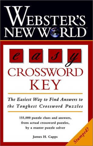 Webster's New World Easy Crossword Key 9780028618371