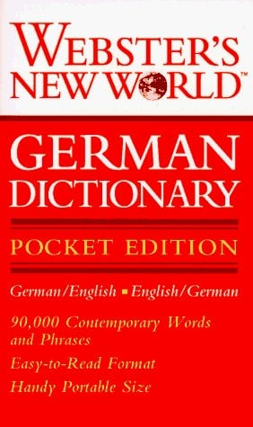 Webster's New World German Dictionary