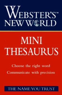 Webster's New World Mini Thesaurus