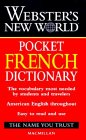Webster's New World Pocket French Dictionary: English-French, French-English