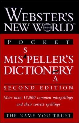 Webster's New World Pocket Misspeller's Dictionary 9780028617206