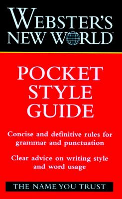 Webster's New World Pocket Style Guide 9780028621579