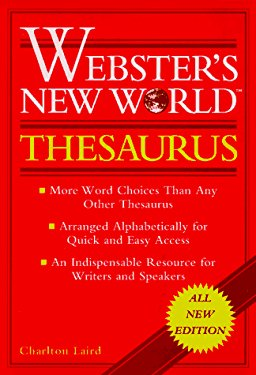 Webster's New World Thesaurus: Leatherkraft, Thumb-Indexed 9780028603377