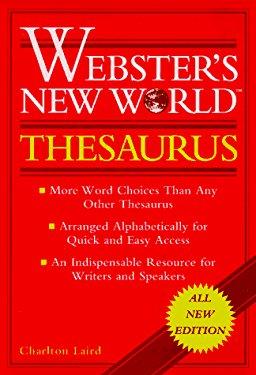 Webster's New World Thesaurus: Leatherkraft, Thumb-Indexed