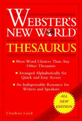 Webster's New World Thesaurus: Thumb-Indexed