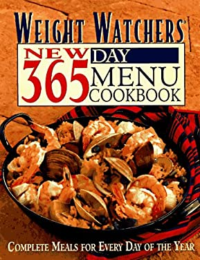 Weight Watchers New 365-Day Menu Cookbook: Complete Meals for Every Day of the Year