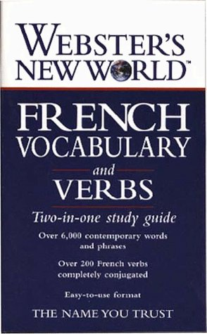 Webster's New World French Vocabulary and Verbs 9780028617213
