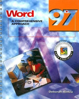 Word 97: A Comprehensive Approach