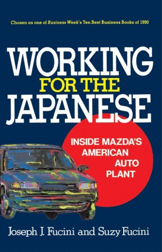 Working for the Japanese 9780029109328