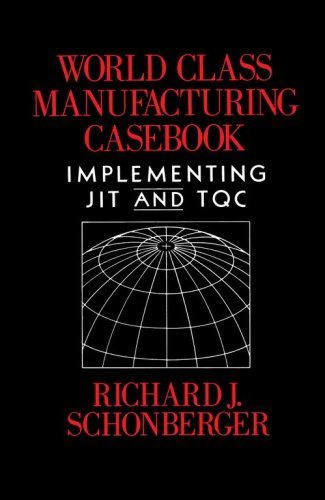 World Class Manufacturing Casebook: Implementing JIT and TQC 9780029293508