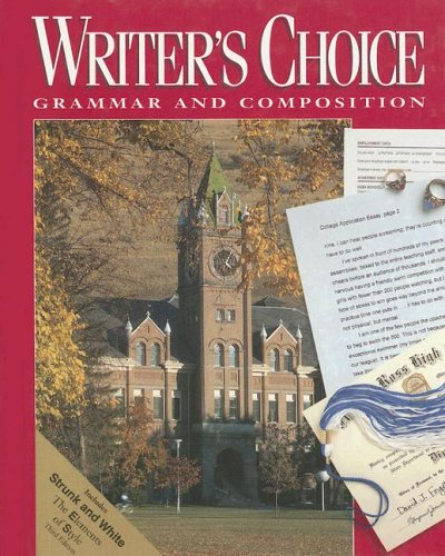 Writer's Choice: Grammar and Composition
