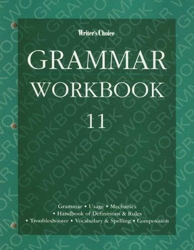 Writer's Choice Grammar Workbook 11