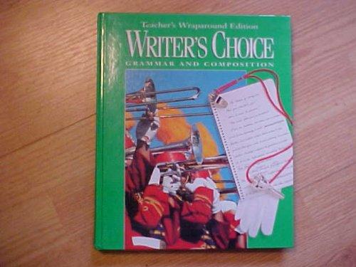 Writer's Choice Grammar Workbooks