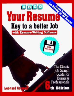 Your Resume: Key to a Better Job: Software User's Manual