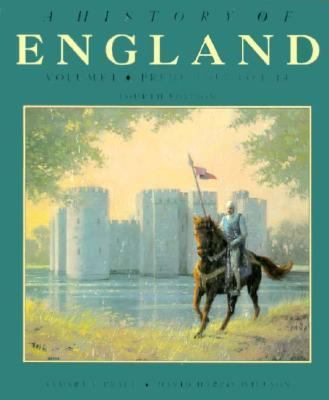 A History of England: Volume I