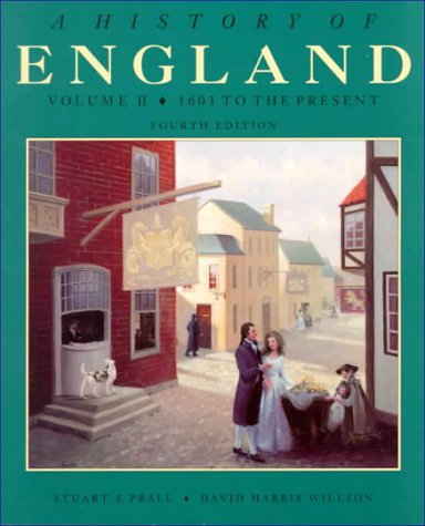 A History of England: Volume II