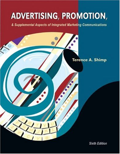 Advertising, Promotion and Supplemental Aspects of Integrated Marketing Communications