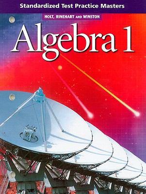 Algebra 1 Standardized Test Practice Masters