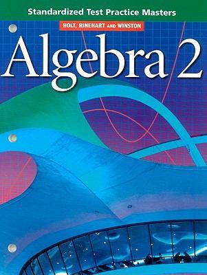 Algebra 2 Standardized Test Practice Masters