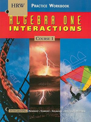 Algebra One Interactions Practice Workbook: Course 1