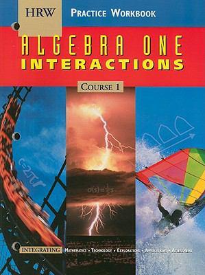 Algebra One Interactions Practice Workbook: Course 1