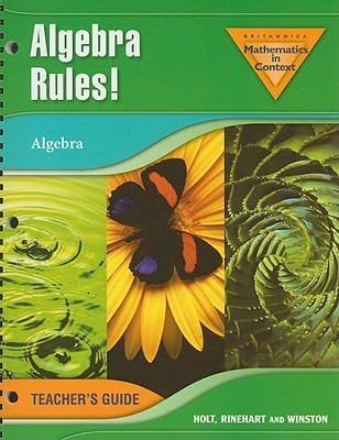 Algebra Rules!: Algebra