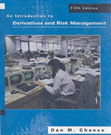 An Introduction to Derivatives and Risk [With Student CD-ROM]