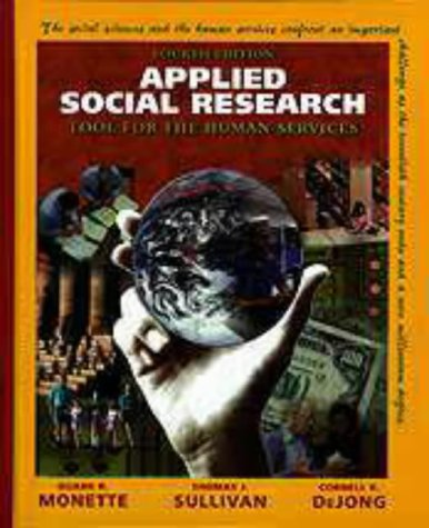 Applied Social Research 9780030194443
