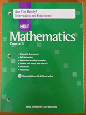 Are You Rdy? W/An Hlt Math CS 3 2007