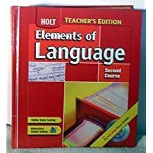 Ate Elements of Language 2004 G 8